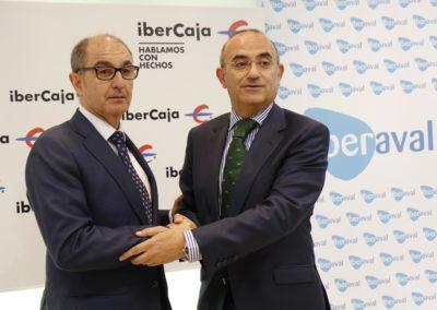 Ibercaja e Iberaval renuevan su apoyo a los proyectos viables de las pymes de Castilla y León con 30 millones de euros