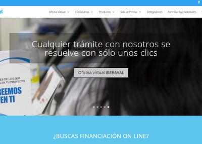 Iberaval renueva su portal web con el objetivo de reforzar la formalización de operaciones a través de internet