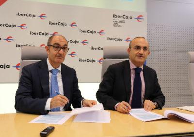Ibercaja e Iberaval unen fuerzas  para potenciar la financiación de las pymes de Castilla y León