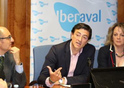 Juan Manuel Sanz, de Naturae, protagoniza el primer «Coloquio Start-Up» de Iberaval, y lanza un mensaje en favor del emprendimiento