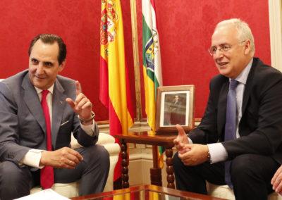 El presidente de La Rioja renueva su apoyo a la acción financiadora de Iberaval