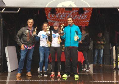 Iberaval logra el tercer puesto en la categoría mixta de la I Carrera de Empresas de El Norte de Castilla