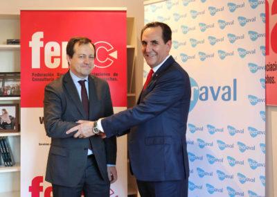 Iberaval acerca su financiación a los socios de FENAC, que integra a 2.000 empresas de servicios de toda España