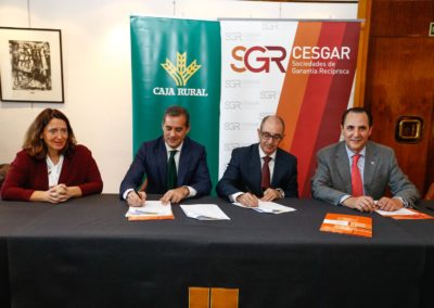 Iberaval se suma al acuerdo nacional de las sociedades de garantía con las cajas rurales