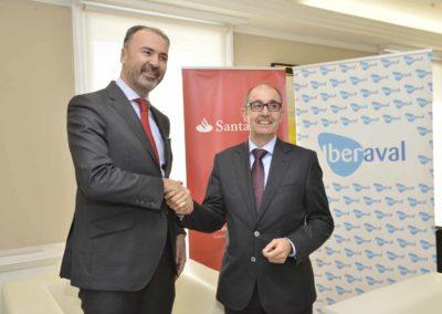 Iberaval y Banco Santander promoverán préstamos de hasta 750.000 euros para ayudar a miles de pymes