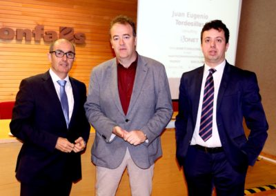 Los empresarios salmantinos se acercan a la financiación y la responsabilidad penal en las compañías, en Confaes, de la mano de Iberaval y Bonet