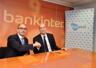 Bankinter  e Iberaval firman un nuevo convenio para reforzar la financiación a las pymes y apoyar su crecimiento