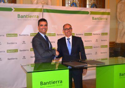 Bantierra e Iberaval se unen para impulsar el acceso a financiación especializada para pymes a partir de préstamos de hasta 750.000 euros