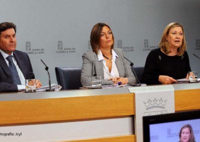 La Junta de Castilla y León refuerza la solvencia de Iberaval al aportar 7 millones para respaldar a pymes en su acceso a financiación