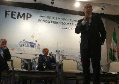 Pedro Pisonero defiende la inversión en el sector pesquero durante la jornada de Cepesca sobre los Retos y Oportunidades del Fondo Europeo Marítimo