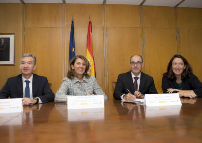 Iberaval participa del acuerdo sellado por el Ministerio, CESGAR e Ibercaja para facilitar financiación a 6.000 pymes de toda España