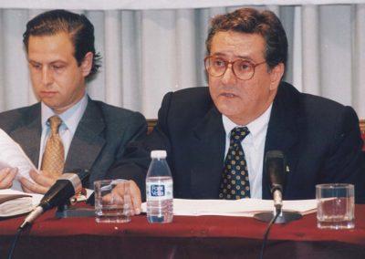 Iberaval lamenta el fallecimiento de uno de su  presidente durante 16 años Eloy Becedas