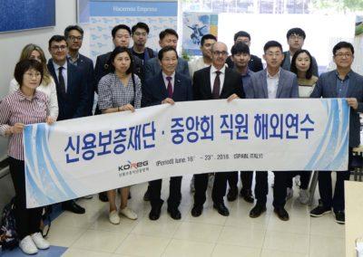 El Sistema Coreano de Garantías conoce el modelo de financiación alternativa español en Iberaval