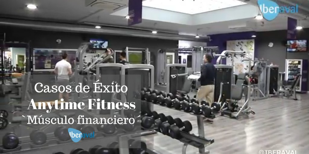 Anytime Fitness: Músculo financiero