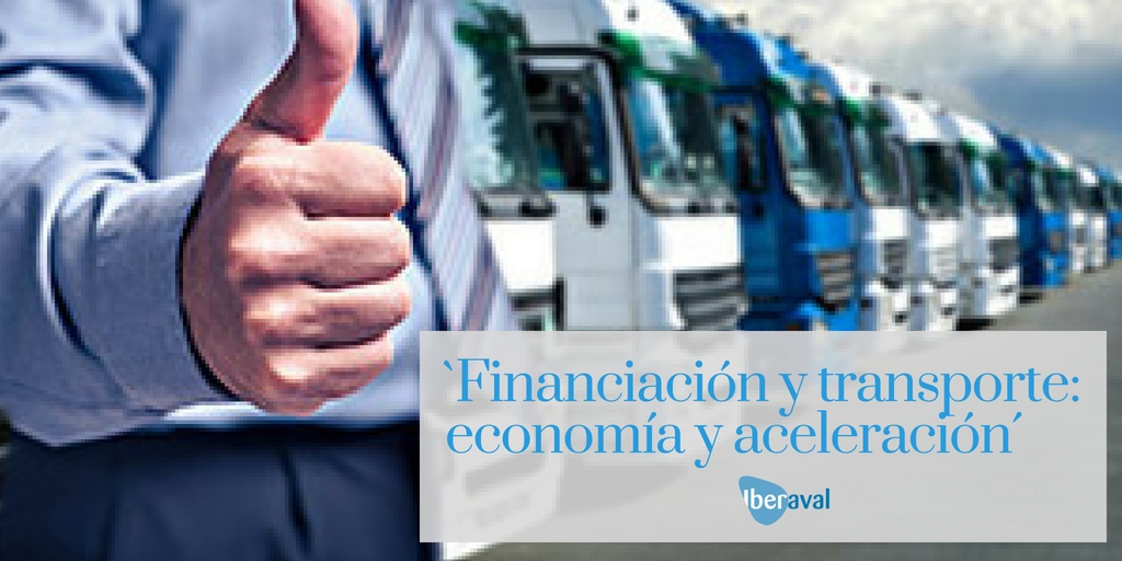 Financiación del sector transporte: economía y aceleración