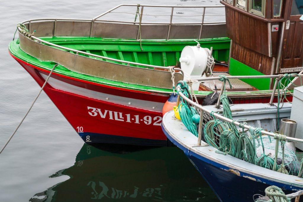 Barcos anclados