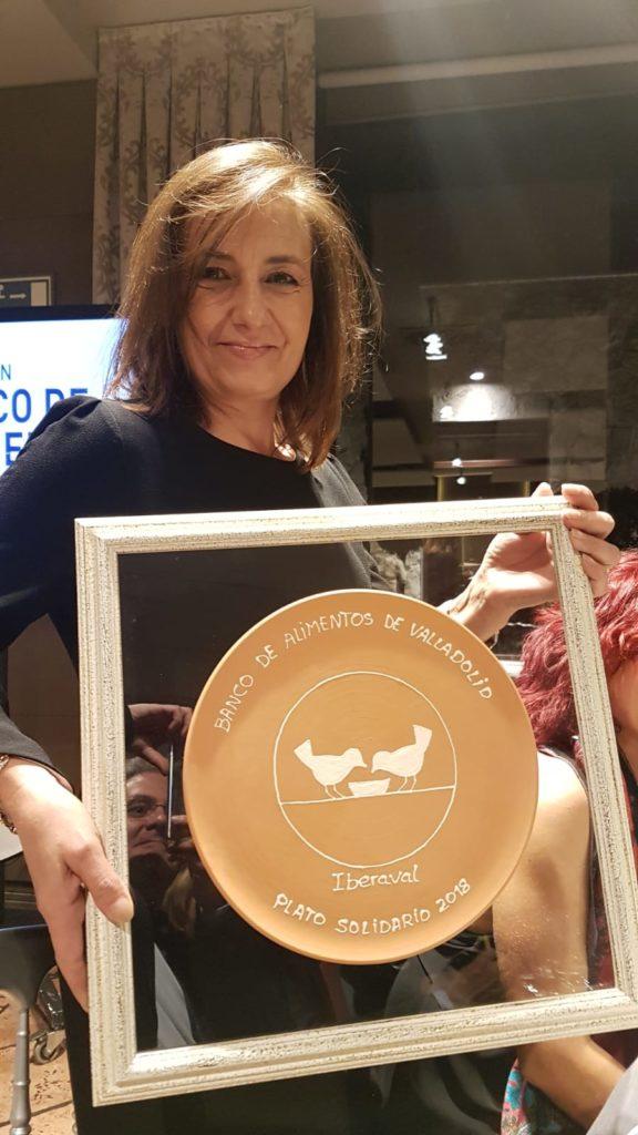 Ana Chamorro, en la entrega del Premio Plato Solidario