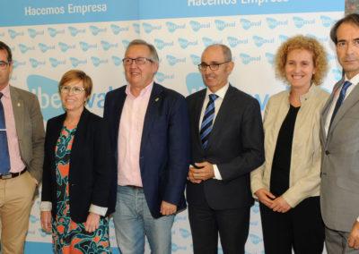 Iberaval abre su nueva oficina en Segovia con el respaldo de la sociedad civil
