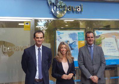 Acuerdo entre Iberaval y Caja Rural de Navarra