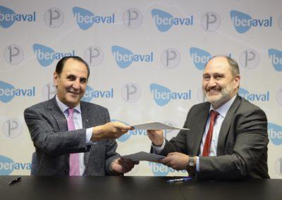 Acuerdo entre Iberaval y la Plataforma de Directivos y Empresarios de Palencia
