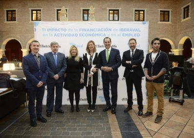 Uno de cada seis puestos de trabajo en Castilla y León cuenta con el respaldo indirecto de Iberaval