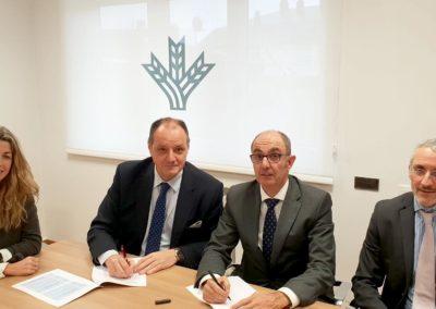 Caixa Rural Galega e Iberaval mejorarán la financiación de las pymes de Galicia