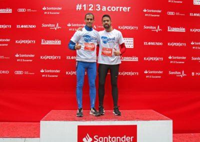 Iberaval logra el cuarto puesto en la Carrera de Empresas de Madrid