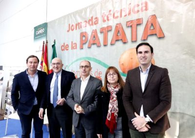 Iberaval, un aliado para los agricultores, en la Jornada Técnica de la Patata de El Carpio