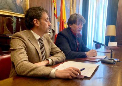 El Ayuntamiento de Soria e Iberaval inyectan 3,3 millones en 27 proyectos empresariales en 2018