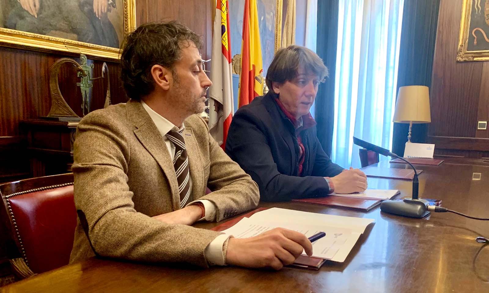 Rueda de prensa Iberaval-Ayuntamiento de Soria