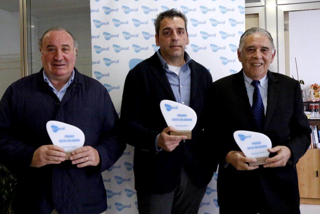 Carlos Gonzalo, José Luis Tejedor y Miguel Navas