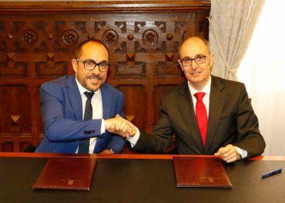 Iberaval renueva su colaboración con la Diputación de Soria para financiar a las pymes