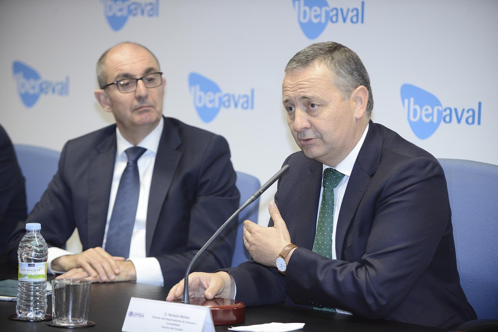 Horacio Molina y Pedro Pisonero