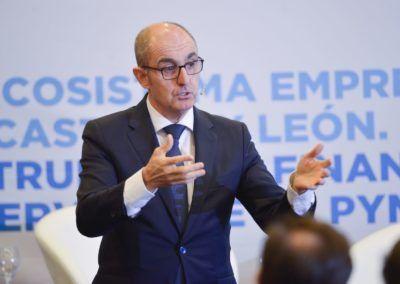 Pisonero aplaude el cambio de la cultura de la subvención al préstamo reembolsable y pone en valor los instrumentos financieros