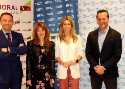 Sandra Martínez acerca a los empresarios de Valladolid la financiación de Iberaval