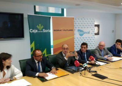 Soria Futuro se alía con Iberaval para impulsar proyectos empresariales en la provincia