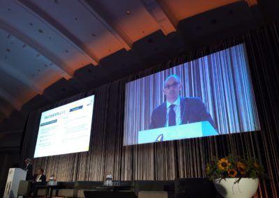Pedro Pisonero da la cara por el cambio digital de las SGR en la Asamblea de AECM