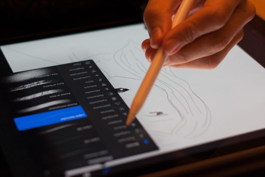 Dibujo influencer