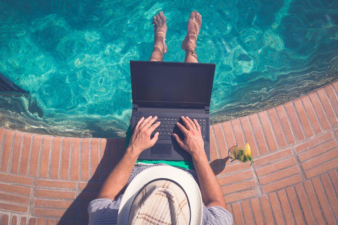 Vacaciones y ordenador