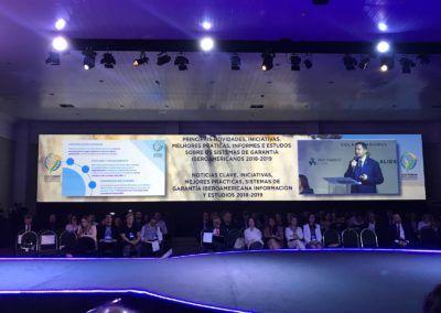 Chema Sánchez expone las acciones de Comunicación en Iberaval