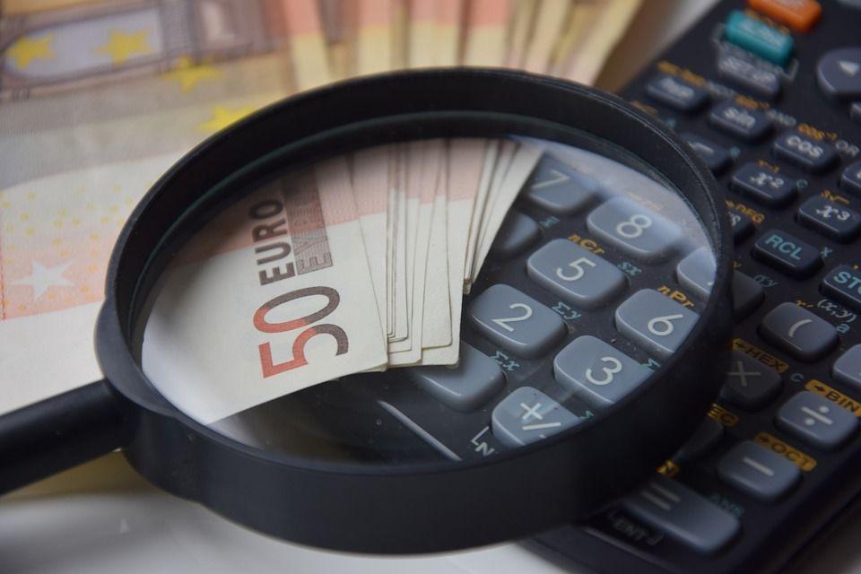 Lupa y dinero