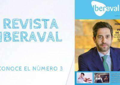 El número 3 de la revista de Iberaval, con nuestros socios más televisivos