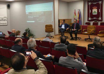 Juan Carlos García pone de relieve en Tordesillas el apoyo de Iberaval al campo