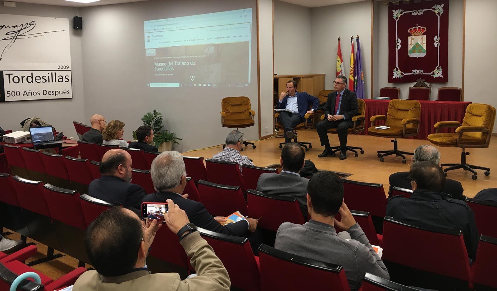 Juan Carlos García en Tordesillas