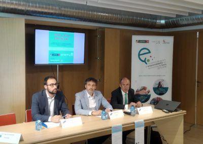 Rubén Moreno pone sobre la mesa las opciones de financiación en la jornada Soria Tech Financing