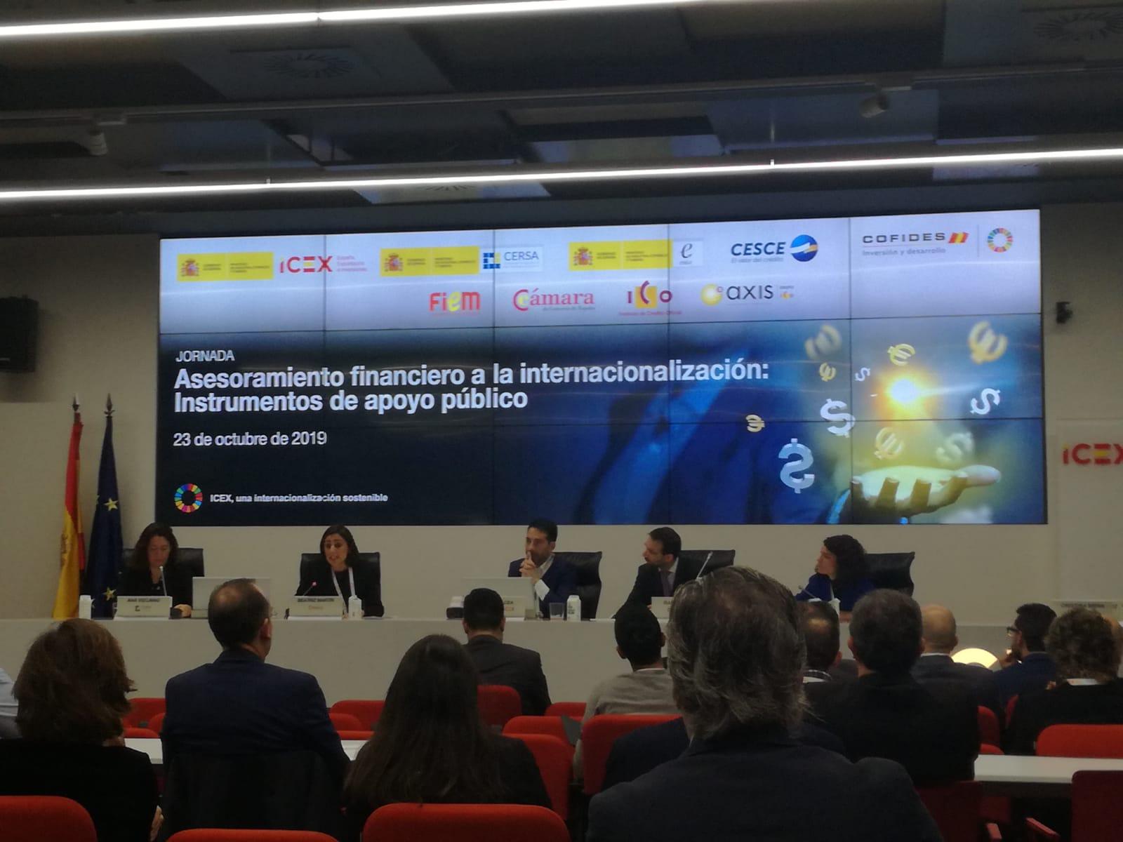 Jornada sobre Internacionalización del ICEX