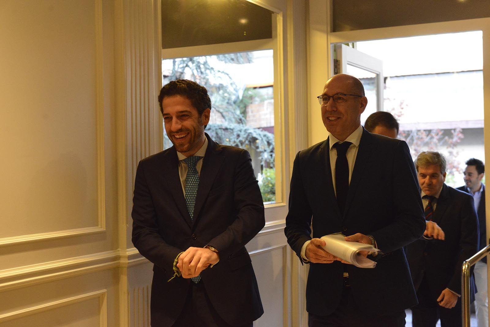 César Pontvianne y Carlos Martín Tobalina