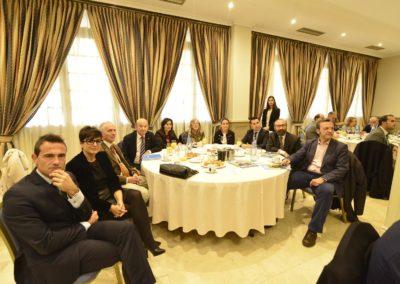 Mesa de asistentes a la Jornada 07