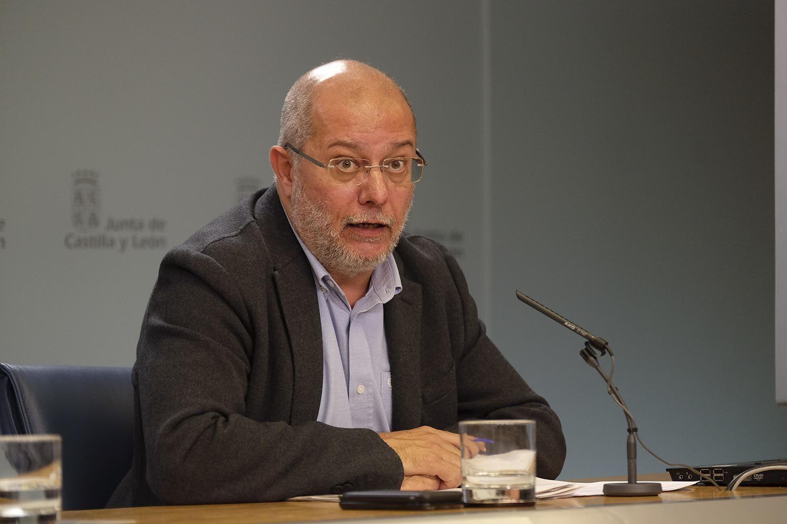 Francisco Igea informa del acuerdo sobre ADE Financia