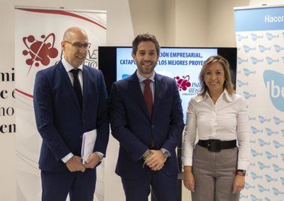 Jornada de Iberaval en Salamanca: Pontvianne anima a los empresarios salmantinos a «creérselo» para «hacer crecer» la provincia y Castilla y León